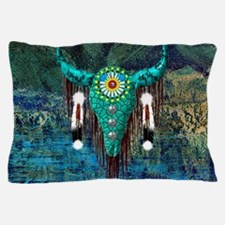 Turquoise Buffalo Pillow Case