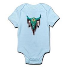 Turquoise Buffalo Infant Bodysuit