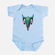 Turquoise Buffalo Infant Bodysuit