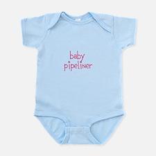 baby pipeliner (pink) Body Suit