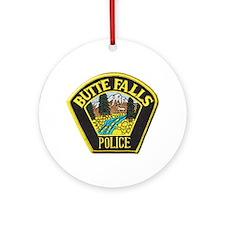 Butte Falls Police Ornament (Round)