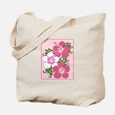 Hibiscus Base Tote Bag