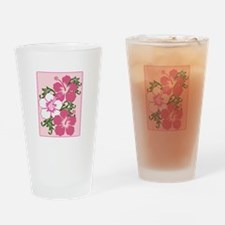 Hibiscus Base Drinking Glass