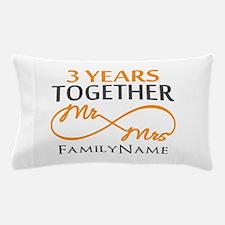 3rd anniversary Pillow Case