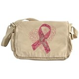 Breast cancer Canvas Messenger Bags