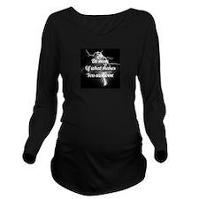 Awesome Long Sleeve Maternity T-Shirt