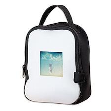 let it be Neoprene Lunch Bag