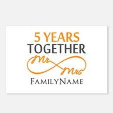 5th wedding anniversary Postcards (Package of 8)