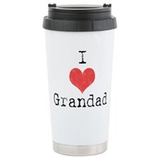 Funny I heart daddy Travel Mug