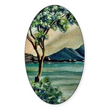 The Bay Of Naples Decal