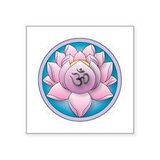 lotus-om-big Sticker