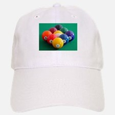 9 Ball Rack Baseball Baseball Cap