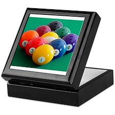 9 Ball Rack Keepsake Box