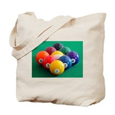 9 Ball Rack Tote Bag