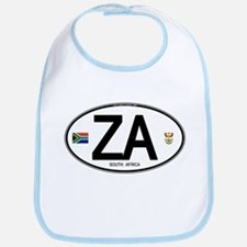 South Africa Euro-style Code Bib