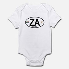 South Africa Euro-style Code Onesie