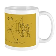 Pioneer Space Plaque Mug