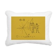 Pioneer Space Plaque Rectangular Canvas Pillow