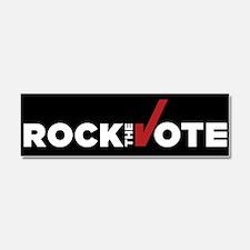 Rock The Vote: Car Magnet 10 X 3