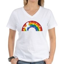 Retro Rainbow Unicorn T-Shirt