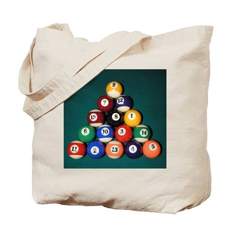 8 Ball Rack Tote Bag