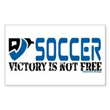 Soccer Victory Rectangle Decal