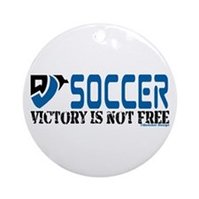 Soccer Victory Ornament (Round)
