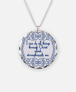 Philippians 4:13 The Word Necklace