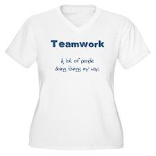 Teamwork - Blue T-Shirt