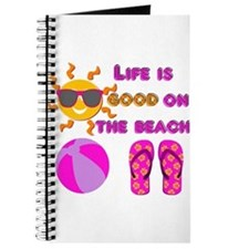 Life is good on the beach! Journal