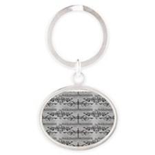 Black Dagger Brotherhood Oval Keychain