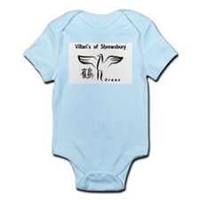 Crane Infant Body Suit