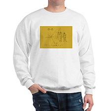 Pioneer Space Plaque Sweatshirt