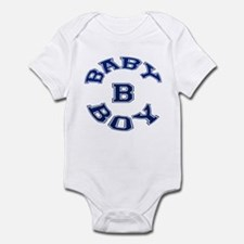 Multiple Baby Boy Baby B Announcement Infant Bodys