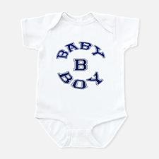 Multiple Baby Boy Baby B Announcement Onesie