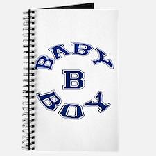 Multiple Baby Boy Baby B Announcement Journal