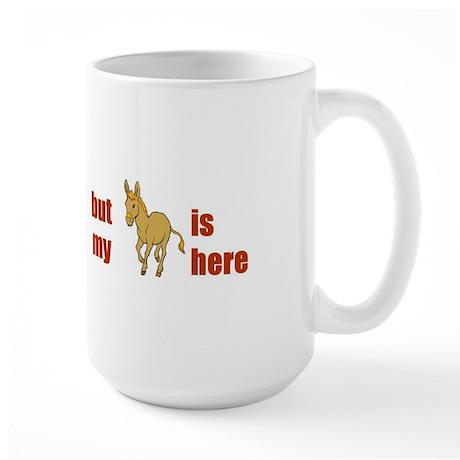 Homesick for Georgia Large Mug