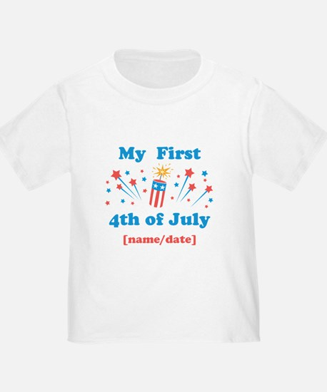 My First 4th of July Personalized T-Shirt