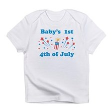 Babys 1st 4th of July Infant T-Shirt