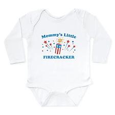 Mommys Little Firecracker Body Suit