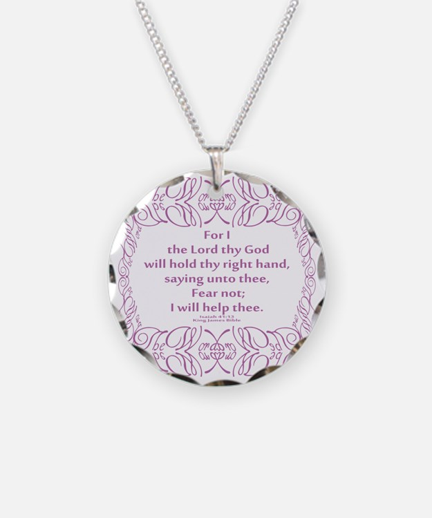 Isaiah 41:13 The Word Necklace