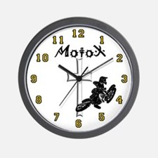 Motocross clock Wall Clock