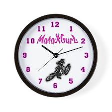 Motocross clock Wall Clock