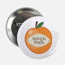 """Georgia Peach 2.25"""" Button"""