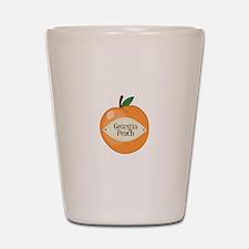 Georgia Peach Shot Glass