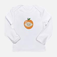 Georgia Peach Long Sleeve T-Shirt