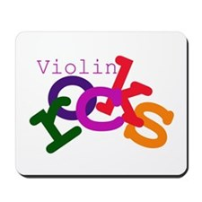 Violin Rocks Mousepad