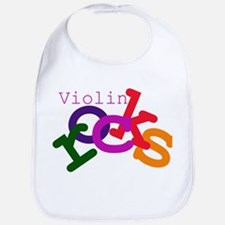 Violin Rocks Bib