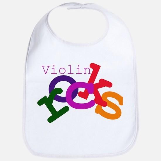 Violin Rocks Bib