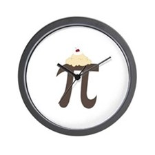 Pi Symbol Wall Clock